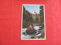 An Der Visp Das Matterhorn  Switzerland > VS Valais      Ref 3038 - VS Valais
