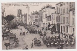La Rochelle, Le 123ème 2éme Bat, Quai Valin - La Rochelle
