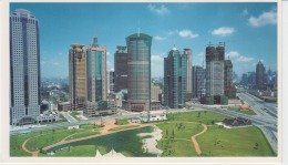Shanghai Lujiazui Uncirculated Postcard (ask For Verso/demander Le Verso) - China