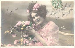 Thèmes - Fantaisies - Enfant - Portrait - Fillette - Joyeux Anniversaire - Portraits