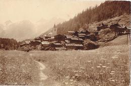 BLATTEN → Alte Dorfansicht Mit Den Rothörnern, Ca.1910 - VS Wallis