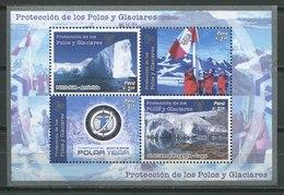 Peru 2008 / Polar Regions & Glaciers Protection MNH Protección Zonas Polares Y Glaciares / Cu9032  41 - Protección Del Medio Ambiente Y Del Clima