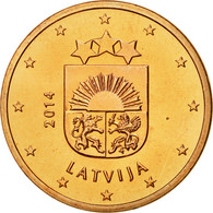 Latvia, 5 Euro Cent, 2014, FDC, Copper Plated Steel, KM:152 - Lettonie