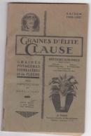 CATALOGUE GRAINES D ELITE CLAUSE BRETIGNY SUR ORGE SAISON 1926 1927 - Books, Magazines, Comics