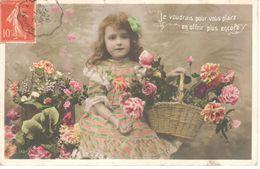Thèmes - Fantaisies - Enfant - Portrait - Fillette - Je Voudrais Pour Vous Plaire ... - Portraits
