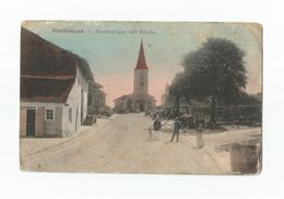 Bourdonnaye.  Hauptstrasse Mit Kirche. - Frankrijk