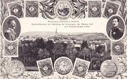 Altenberg Calamine Kelmis Neutral-Moresnet Mit Abbildung Des Amtssiegels Der Münzen Und Verkehrsmarken - 2 Scans - La Calamine - Kelmis