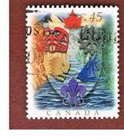 CANADA   -  SG 1697 - 1996 CANADIAN HERALDY TRADITION FCP -  USED - 1952-.... Regno Di Elizabeth II
