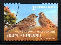 FINLANDE. N°1596 Oblitéré De 2003. Alouette. - Songbirds & Tree Dwellers