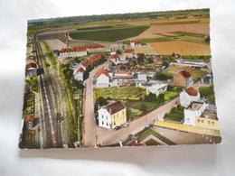 D. 59 - La Bassée (nord) Vue Panoramique Train , Gare Chemin De Fer - Autres Communes