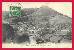 CPA Algérie - Oran - La Basse Ville Et Les Quais - Oran