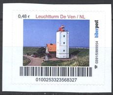 Biber Post Leuchtturm De Ven Niederlande (Lighthouse) (48)  G430 - BRD