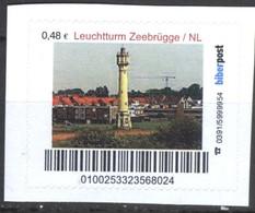 Biber Post Leuchtturm Zeebrügge Niederlande (Lighthouse) (48)  G431 - BRD