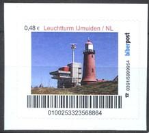 Biber Post Leuchtturm Ijmuiden Niederlande (Lighthouse) (48)  G432 - BRD
