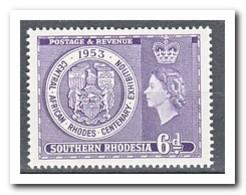 Zuid Rhodesië 1953, Postfris MNH, Queen Elisabeth II - Zimbabwe (1980-...)