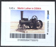 Biber Post Martin Luther In DSWA (Lokomobile) (45)  G438 - BRD