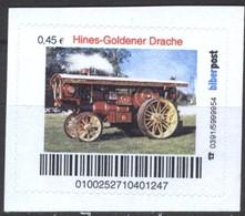 Biber Post Hines-Goldener Drache (Lokomobile) (45)  G439 - BRD