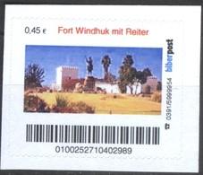 Biber Post Fort Windhuk Mit Reiter (45)  G440 - BRD