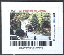 Biber Post Deutsches Hospital Auf Jersey (45)  G441 - BRD