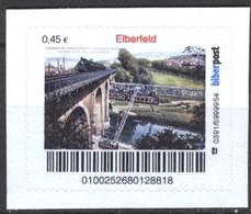 Biber Post Elberfeld (Wuppertaler Schwebebahn) (45)  G442 - BRD