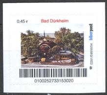 Biber Post Bad Dürkheim (Riesenfass) (45)  G443 - BRD