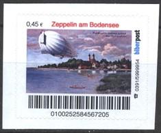 Biber Post Zeppelin Am Bodensee (45)  G445 - BRD