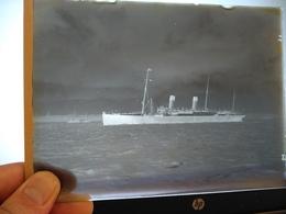 TEUTONIC   DIAPOSITIVO DE VIDREO , GLASSPLATE  CRISTAL  16.5 * 12 CM 250GRAMOS - Boats