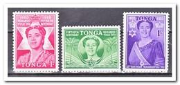 Tonga 1950, Postfris MNH, 50th Birthday Of Queen Salote - Tonga (1970-...)