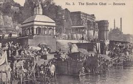 BENARES - The Sindhia Ghat - India