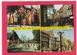 Modern Multi View Post Card Of Grub Aus Der Rattenfangerstadt In Hameln A.d. Weser,Lower Saxony, Germany.,B39. - Hameln (Pyrmont)