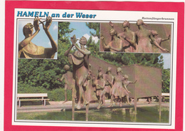 Modern Multi View Post Card Of Hameln A.d. Weser,Lower Saxony, Germany.,B39. - Hameln (Pyrmont)