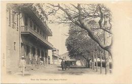 AFRIQUE SENEGAL. DAKAR. RUE DE DAKAR EN FACE L HOTEL.  ED FORTIER DAKAR - Senegal