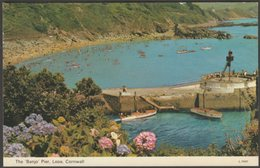 The Banjo Pier, Looe, Cornwall, 1973 - Dennis Postcard - England