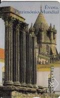 PORTUGAL(L&G) - Evora/Patrimonio Mundial 2, CN : 606L, Tirage 13000, 06/96, Used - Portugal
