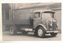 38965 -  Wegnez  Transport  Gilson -    Camion -  Photo  Format Carte - Pepinster