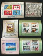 Vente De Timbres De Roumanie  Lot De 18 Blocs/feuillets  MNH XXX - Collections