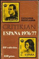 CATÁLOGO REGULADOR. CRITIKIAN ESPAÑA 1976-77. 33º EDICIÓN - España