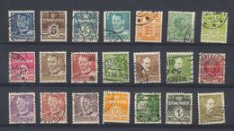 Vente D'une Collection Du Danemark -Denmark -  Lot De 289 Timbres Oblitérés -pour Recherches - Lotes & Colecciones