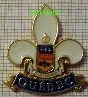 QUEBEC  PROVINCE DU CANADA    FLEUR De LYS  BLASON - Villes