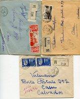 PYRENEES ATLANTIQUES De BIARRITZ  6 Env. Recom. De 1949   1951 Avec Dateur A 6 - Marcophilie (Lettres)