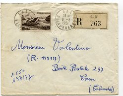 PYRENEES ATLANTIQUES De GAN   Env. Recom. De   1951 Avec Dateur A 6 - Marcophilie (Lettres)