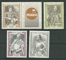 POLAND MNH ** 3231-3234 ROIS ET PRINCES WLADISLAW III LASKONOGI HENRYK I KONRAD I MAZOWIECKI BOLESLAW V - 1944-.... Republik