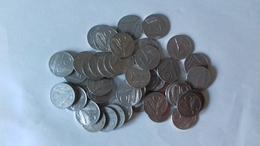 LOTTO 44 MONETE DA 10 LIRE - Usate - Dal 1951 Al 1990 - Come Da Foto. - 10 Lire