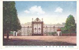 POSTAL  - TOKYO  -JAPON  - THE VIEW OF THE AKASAKA DETACHED PALACE (LA VISTA IMPARCIAL DEL PALACIO DE AKASAKA) - Tokyo