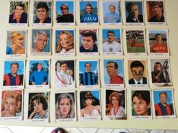 VEDETTES - CELEBRITA' PERFETTI BUBBLE GUM CARDS - 1967 About, ITALIA - Lotto 28 Figurine Cartonate - Confectionery & Biscuits