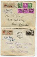 PYRENEES ATLANTIQUES De SAINT JEAN DE LUZ  2    Env. Recom. De 1950 Avec Dateur  A  6 - Marcophilie (Lettres)