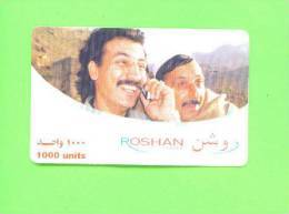 AFGHANISTAN - Remote Phonecard As Scan - Afghanistan