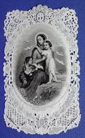 IMAGE PIEUSE SANTINI    CANIVET 19 Eme ED. DOPTER   LA SAINTE VIERGE ET L'ENFANT JESUS - Imágenes Religiosas