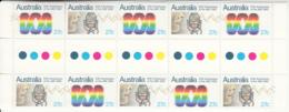 Australia 1982 MNH Scott #831a Gutter Block Of 10 27c Australian Broadcasting 50th Anniversary - 1980-89 Elizabeth II