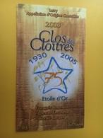 8741 - 1930-2005 75 Ans Etoile D'Or Suisse Clos Des Cloîtres François Rousseil - Muziek & Instrumenten